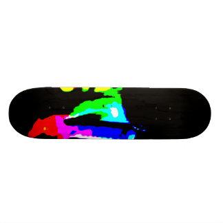 94 - alterado shape de skate 19,7cm