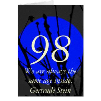 98th Aniversário Cartão Comemorativo
