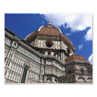 A abóbada de Brunelleschi Impressão De Foto