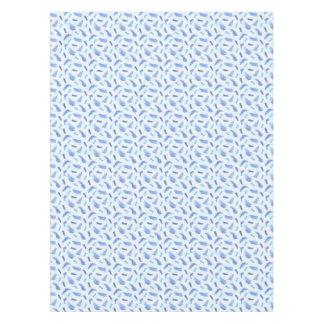 """A aguarela azul mancha o Tablecloth 52"""" x 70"""" Toalha De Mesa"""