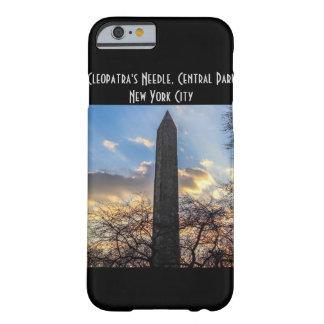 A agulha/Obelisk de Cleopatra no Central Park Capa Barely There Para iPhone 6