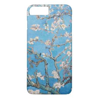 A amêndoa floresce pintura azul da arte de Vincent Capa iPhone 7 Plus