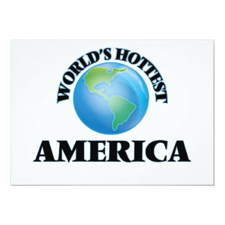 A América a mais quente do mundo Convite