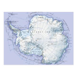 A Antártica Cartão Postal