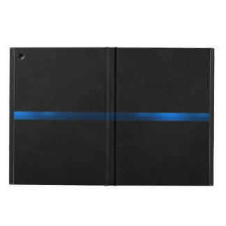 A aparência de madeira preta dilui Blue Line