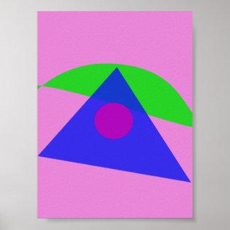 A arte abstracta geométrica a mais simples