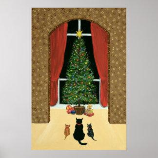 A árvore de Natal Poster