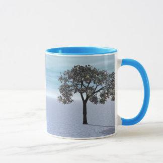 A árvore do inverno caneca