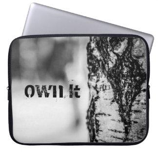 A árvore Noir do inverno possui-o Capa Para Laptop