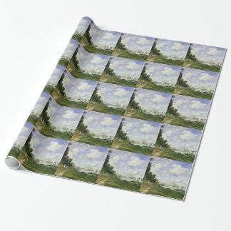 A bacia em Argenteuil - Claude Monet Papel De Presente