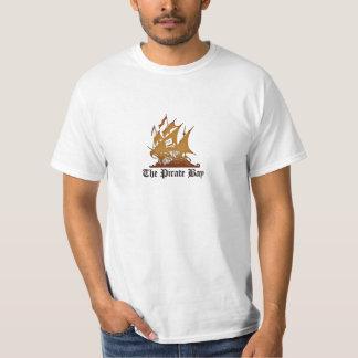 a baía do pirata camisetas