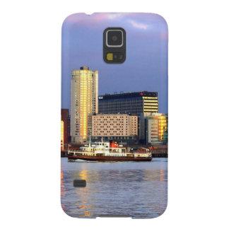 A balsa de Mersey & o beira-rio de LIverpool Capinhas Galaxy S5