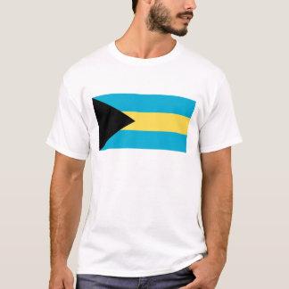 A bandeira de Bahamas Camiseta