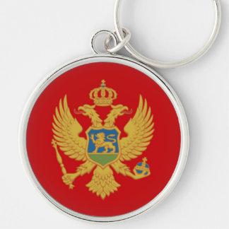 A bandeira de Montenegro Chaveiros