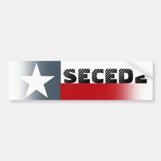 A bandeira de Texas do autocolante no vidro trasei Adesivo Para Carro