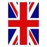 A bandeira de Union Jack Convite Personalizado