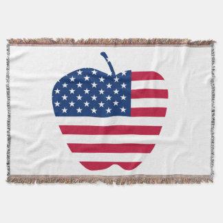 A bandeira grande NYC de Apple América Lençol
