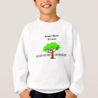 A beleza da natureza camisetas