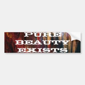 A beleza pura existe adesivo para carro