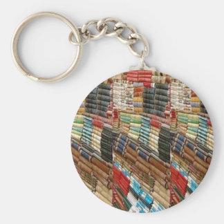 A biblioteca do leitor ávido dos LIVROS lida apren Chaveiro