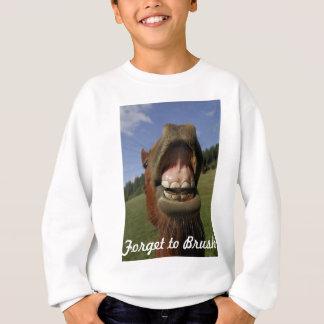 A boca do cavalo engraçado esquece escovar tshirt