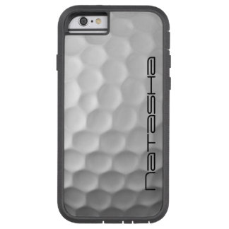 A bola de golfe ondeia o teste padrão da textura capa tough xtreme para iPhone 6