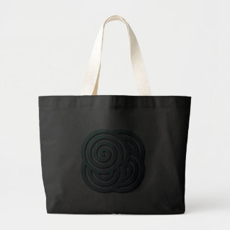 A bolsa de canvas do labirinto