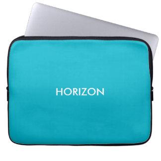 a bolsa de computador azul horizonte capas para computadores