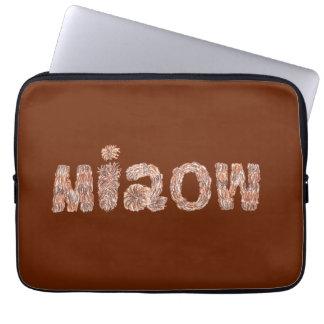 """A bolsa de laptop 13"""" de Miaow Bolsas E Capas De Notebook"""