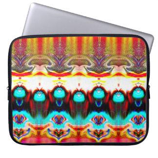 A bolsa de laptop abstrata capa de notebook