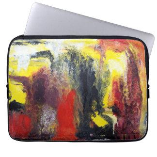 A bolsa de laptop abstrata da pintura capas para laptop