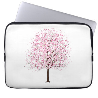 A bolsa de laptop da árvore da flor capa de notebook