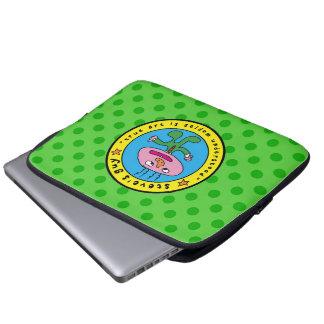 a bolsa de laptop da cara de steve bolsa e capa de notebook