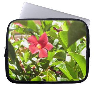 A bolsa de laptop da flor capas para notebook