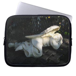 A bolsa de laptop do anjo do sono capas para notebook