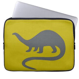 A BOLSA DE LAPTOP do dinossauro Bolsas E Capas De Notebook