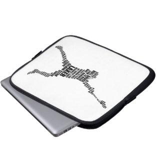 A bolsa de laptop do Lacrosse Capas Para Notebook
