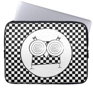 A bolsa de laptop do neopreno da coruja de Hypno Capas Para Computadores