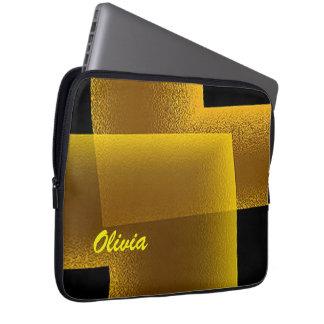 A bolsa de laptop do neopreno de Olivia 13 Capas Para Computadores