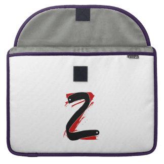 A bolsa de laptop do Z-Alfabeto Bolsa Para MacBook