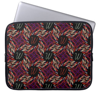 A bolsa de laptop dos vermelhos da parada de Ww Capa Para Laptop