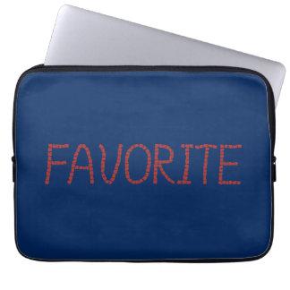 "A bolsa de laptop favorita 13"" bolsas e capas de notebook"