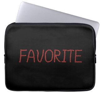 "A bolsa de laptop favorita 13"" capa de notebook"