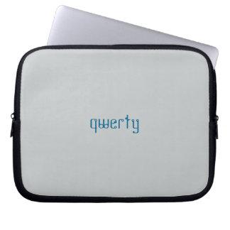 a bolsa de laptop QWERTY Capas Para Notebook