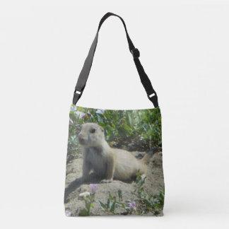 A bolsa mensageiro do cão de pradaria