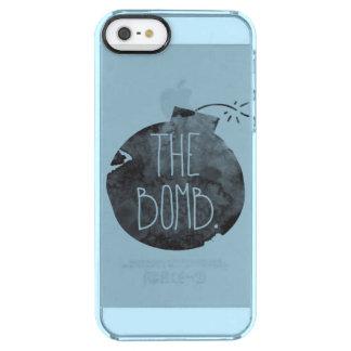 A bomba capa para iPhone SE/5/5s clear