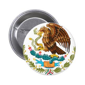 A brasão do símbolo de México Botons
