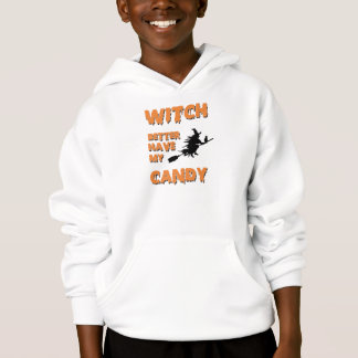 A bruxa melhor tem minha camisa dos doces