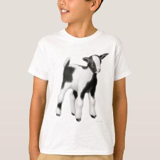 A cabra bonito do bebê caçoa o t-shirt