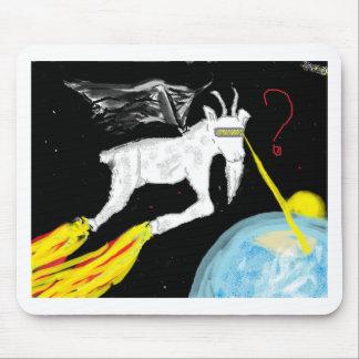 A cabra do espaço mouse pad